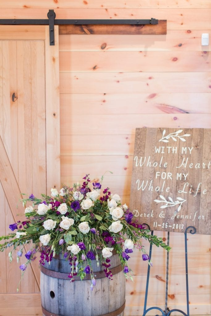 Wedding Welcome Sign – Country Lane Lodge