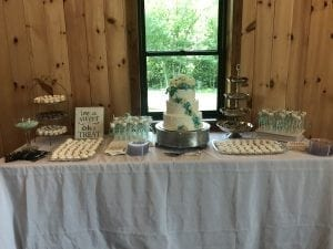 Cake and Treat Tables - Business Meetings, Corporate Events, Class Reunions at Country Lane Lodge