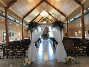 Decorating the Event Venue - Indoor & Outdoor Wedding and Event Venue