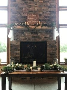 Decorating the Event Venue - Des Moines Area Wedding and Event Venue
