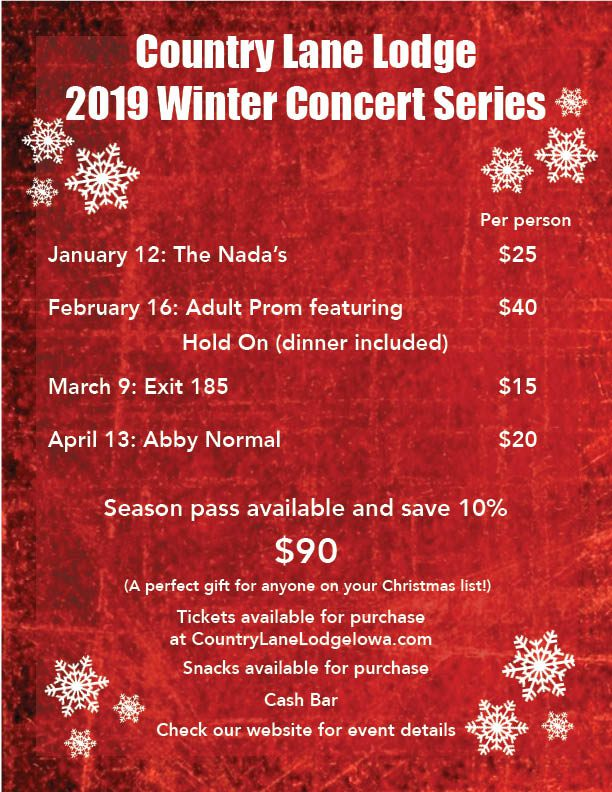 Country Lane Lodge 2019 Winter Concert Series (4)